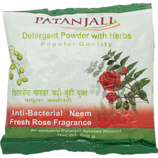 Patanjali Detergent Powder Popular 250gm