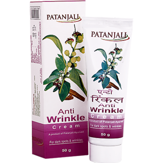 Patanjali Tejus Anti Wrinkle Cream 50 GM
