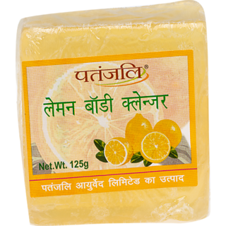 Patanjali Lemon Body Cleanser 125gm