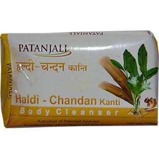 Patanjali Haldi Chandan Kanti Body Cleanser 150 Gm