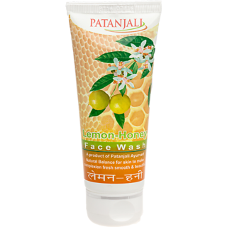 Patanjali Lemon Honey Face Wash 60 GM