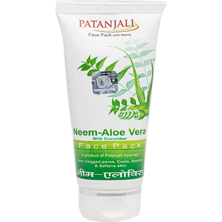 Patanjali Neem Aloevera With Cucumber Face Pack 60gm