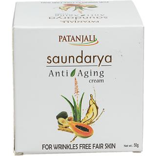 Patanjali Saundarya Anti Aging Cream 50gms