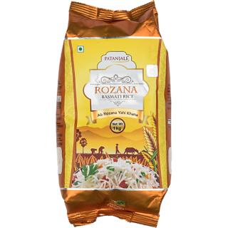 Patanjali Rozana Basmati Rice 1Kg