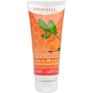 Patanjali Honey Orange Face Wash, 60 GM