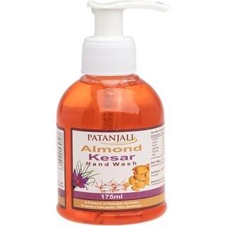 Patanjali Hand Wash Almond Kesar 175ml