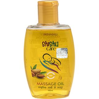 Patanjali Shishu Care Message Oil 100ml