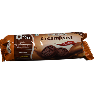 PATANJALI CREAMFEAST CHOCOLATE BISCUIT 84 gm