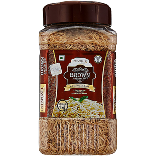 PATANJALI BROWN BASMATI RICE (JAR)