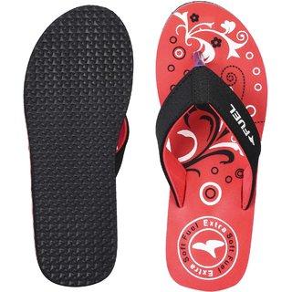 Fuel RedStylish Walking Flip Flops