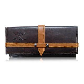 Sn Louis Brown Women Wallet 010