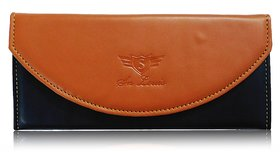 Sn Louis Tan  Black Women Wallet 015