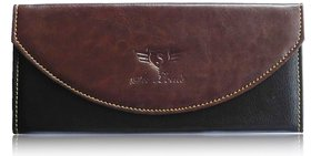 Sn Louis Brown Women Wallet 017