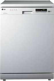 LG D1451WF Free Standing 14 Place Settings Dishwasher
