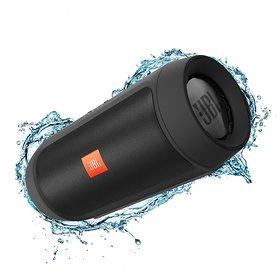 Refurbished JBL Charge 2 Black Portable Mobile/Tablet Speaker - Black 3 Months Seller Warranty