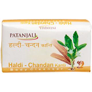 Patanjali Haldi Chandan Kanti Body Cleanser 75 G