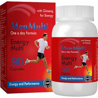 Mensmulti  Multivitamins for Men -90 Capsules