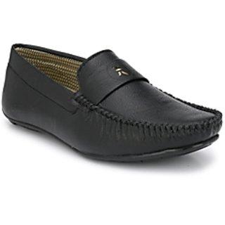 BB LAA Black Men's Trandyy Loafers Shoes
