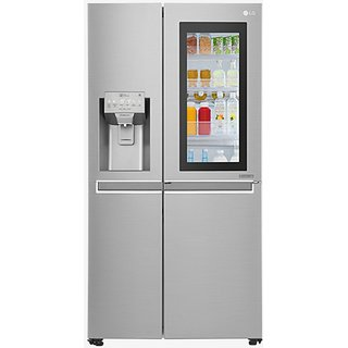 LG GC-X247CSAV 668L Side by Side Refrigerator (Noble Steel)