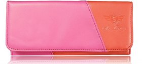 Sn Louis Pink And Red Women Wallet 018