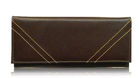 Sn Louis Brown Women Wallet 019
