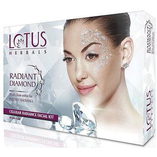 Lotus Herbals Radiant Diamond Cellular Radiance Facial Kit