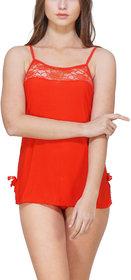 Women Hot Sexy Lingerie Mini Babydoll Sleepwear Strap lace Dress - By Billebon