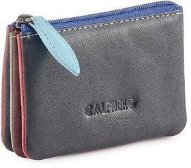 Calfnero Women Genuine Leather Multi Wallet