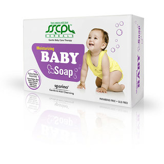 Sparino Baby Soap - Pack of 2 (Each 100 gms)