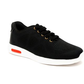 buy shoegaro men's black smart casual shoes online  ₹999