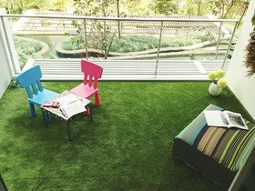 Kuber Industries 45 MM Arificial Grass For Floor, Soft And Durable Plastic Natural Landscape Garden Plastic Mat (6.5 X 6 FEET) In Thick Material (G11)