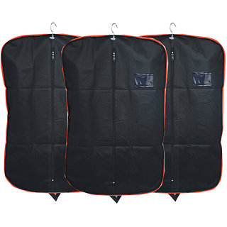 bf6d08f5da39 Kuber Industries Men s Coat Blazer cover Foldover Breathable Garment Bag  Suit cover Set of 3 Pcs
