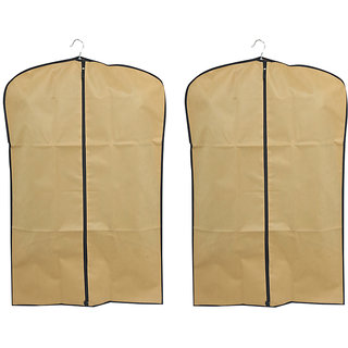bd47c3447845 Kuber Industries Men s Coat Blazer cover Foldover Breathable Garment Bag  Suit cover Set of 2 Pcs