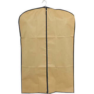 3f22f49181c4 Buy Kuber Industries Men s Coat Blazer cover Foldover Breathable Garment  Bag Suit cover Set of 3 Pcs- Cream Online - Get 50% Off