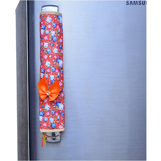 Kuber Industries Multi-Purpose Handle Cover For Car/ Refrigerator/Oven (1 Pair) Color & Print Might Be Vary As Per Availability