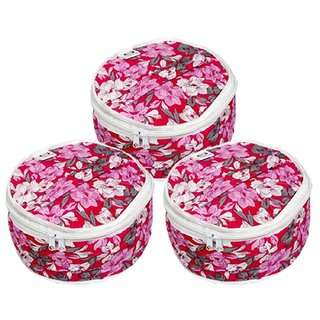 Kuber Industries Cotton Roti Cover/ Chapati Cover/ Roti Rumals Set of 3 Pcs (Assorted)