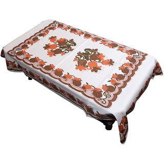 3e51b0f4a79 Buy Kuber Industries Center Table Cover Cream Floral Design in Cloth 40 60  Inches - KU285 Online - Get 50% Off