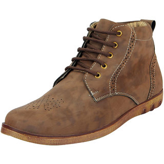 FAUSTO Brown Men's Ankle Boots