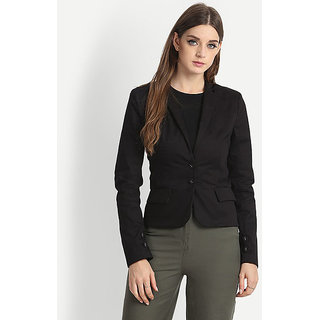 Fabrange Black Heath Casual Blazer