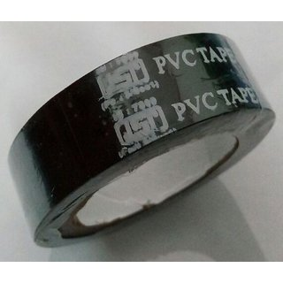 PVC Electrical Insulation Tape -(18 MM X 8 M X 0.125 MM) - (Set Of 10 Pcs)