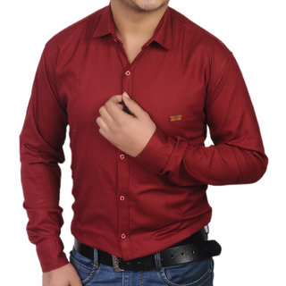 Gladiator Products Casual Shirt Plain Dobby