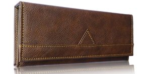 Sn Louis Brown Women Wallet 023