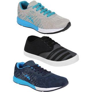 605ee28a09d0 Buy Bersache Men Combo Pack Of 3 (Casual Shoes