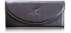 Sn Louis Brown Women Wallet 028
