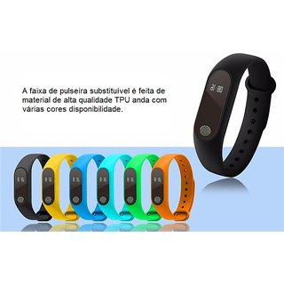 FrappelBingo M2 Smart Fitness Band with OLED Display Heart Rate Sensor