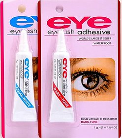 combo of everlash eyelashes adhesive glue
