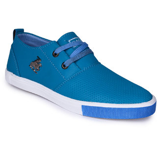 Do Bhai Mens Blue Sneakers