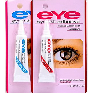 combo of everlash eyelashes adhesive glue