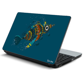 Fish laptop skin