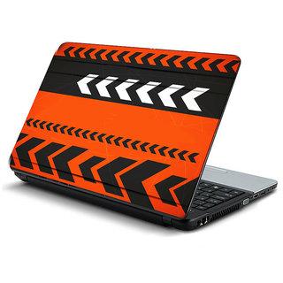 Orange black 3D texture